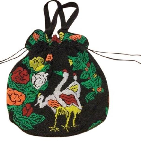 Vintage Handbags - Vintage Beaded Bag