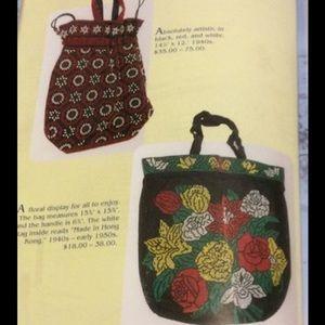Vintage Bags - Vintage Beaded Bag