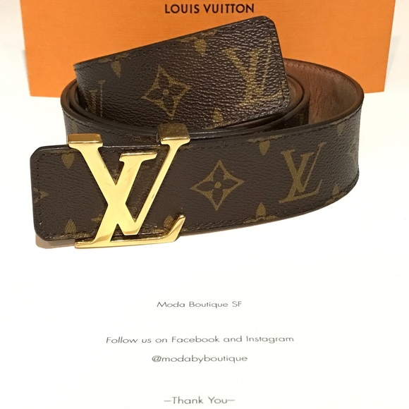 21db905a21a1 Louis Vuitton Other - LV INITIALES 40MM M9608 Monogram 34-40