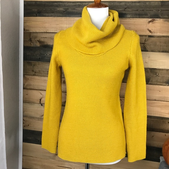 67% off Banana Republic Sweaters - BANANA REPUBLCI mustard yellow ...