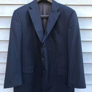 J. Press Blue Pinstripe Jacket