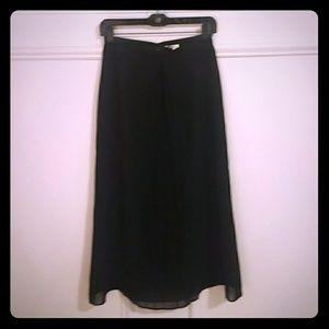 J.Crew dressy long skirt - one pleat in front