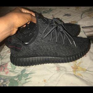 96edf0257 adidas Shoes - Replica Adidas Yeezy boost 350 Pirate Black USED!