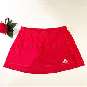 Adidas Red Skort. Size Small.