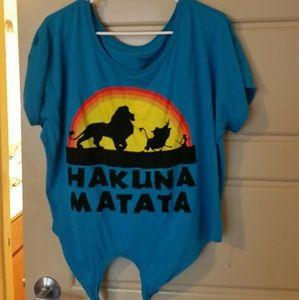 Oversized Hakuna Matata shirt