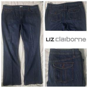 Liz Claiborne STRETCH Jeans sz 14x31