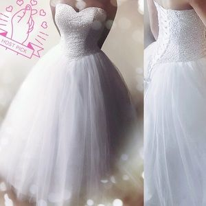 Dresses & Skirts - LOW❣️Luxury Queen Shiny Tulle Wedding Gown, 4-26W
