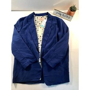 NWT Skies are blue Hallie 3/4 sleeve blazer-M