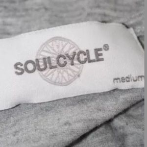 soulcycle Tops - SOUL CYCLE RACERBACK GRAPHIC TANK TOP SIZE MEDIUM