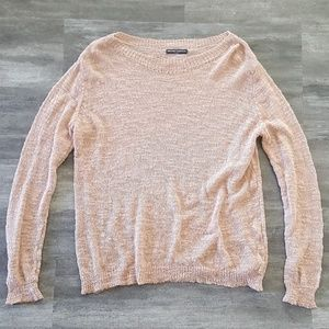 Nude Pink Melville Sweater Long Sleeve
