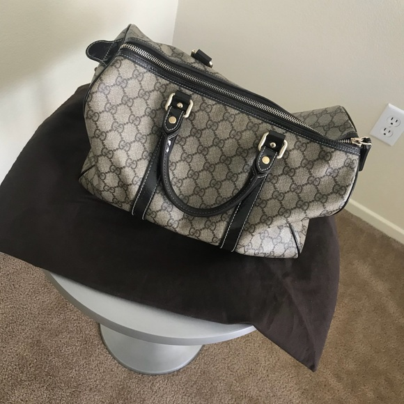 cbdd84959616 Gucci Bags | Canvas Bowling Bag | Poshmark