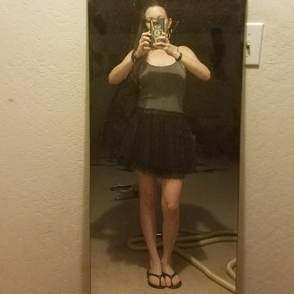 Free People Dresses - ❤HP!!*Free People Tulle/Lace Mini Dress*❤