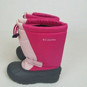 COLOMBIA KIDS GIRLS SNOW BOOTS. Size 4