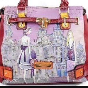 Never used Nicole Lee Clocktower Bag
