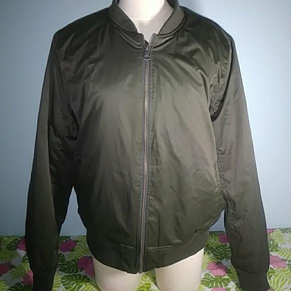 b60d38e28 Womens american eagle flight bomber jacket XL