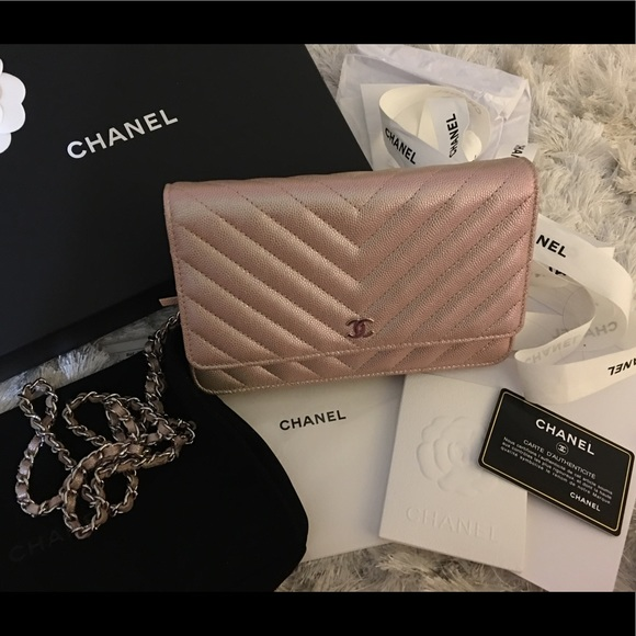 c1e01b13785a CHANEL Bags | Sold Wallet On Chain Woc Light Gold | Poshmark
