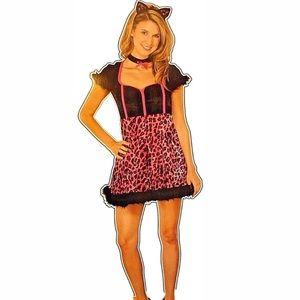 Sassy kitty women costume