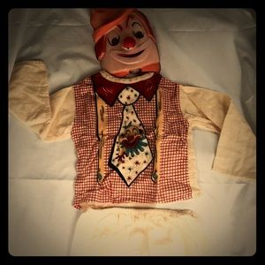 Vintage '72 Kid's Rodeo Clown Costume(Sz 5-8 boys)