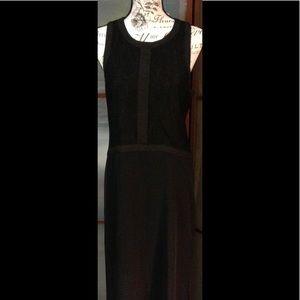 BCBGENERATION Black Long Dress size M NWT.