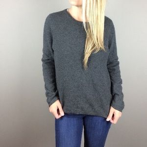 Charter Club Gray cashmere sweater