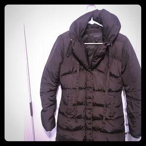 Tahari XS brown winter coat