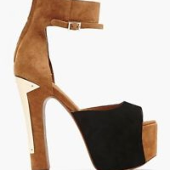 cc14fb22d6d Jeffrey Campbell Shoes - JEFFREY CAMPBELL All The Way Platform Heel Size 6