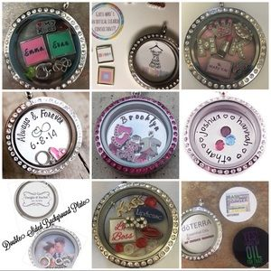 Jewelry - Floating Lockets with Custom Charms