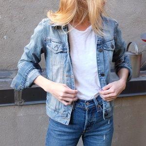 Vintage Hollister Blue Jean Jacket