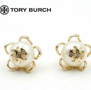 Tory Burch 'Emma' Pearl Earrings