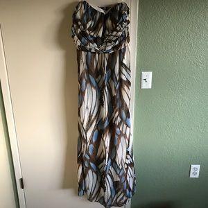 jessica simpson maternity dress. x large. euc!