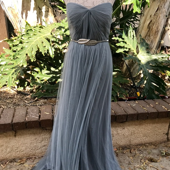 ed364a4147 Jenny Yoo Anabelle tulle hydrangea convertible NWT
