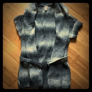 Cache Short Sleeve Knit Cardigan