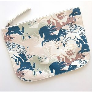 Wild Horses Pouch Clutch