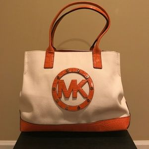 Authentic Michael Kors Tote Bag