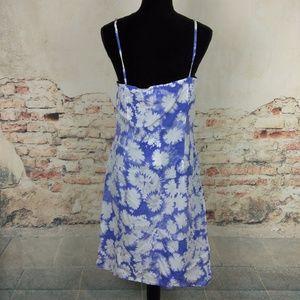5c6906b23fc9a Calvin Klein Dresses - Calvin Klein 10 Cornflower Blue White Slip Dress