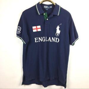 Mens Ralph England Lauren Shirt Polo PiTOZkXu