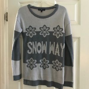 Snow Way ❄️ Holiday Sweater