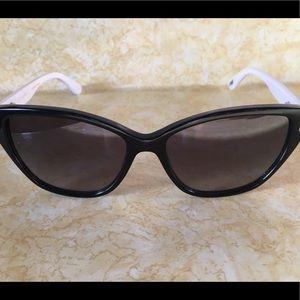 Ted Baker Sunglasses Black White Cat Eye