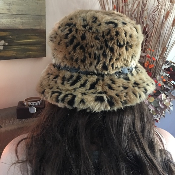 8a24ad7ecd45 Accessories | Nwot Faux Fur Bucket Hat | Poshmark