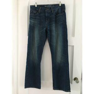Mossimo straight leg dark wash jeans