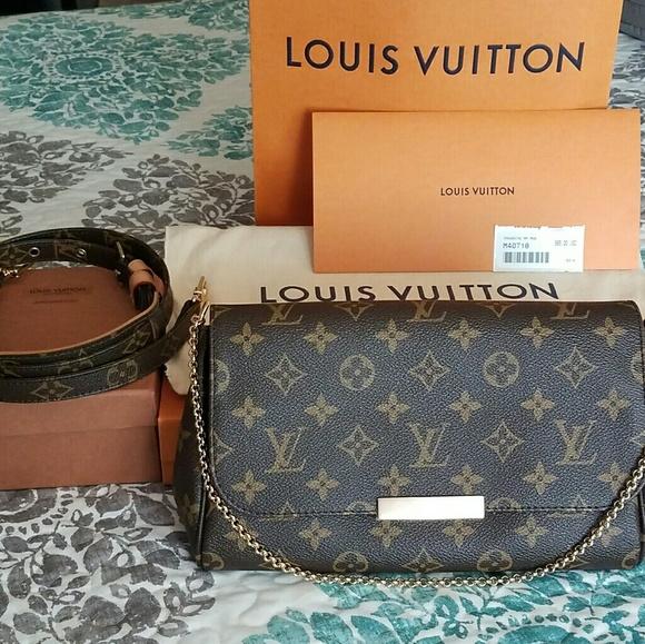 f9462dca9296 Louis Vuitton Handbags - Louis Vuitton Favorite MM 2017- MINT cond!