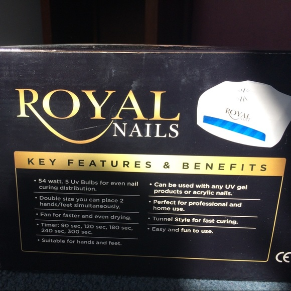 royal nails Accessories | New Uv Lamp For Gel Curing | Poshmark