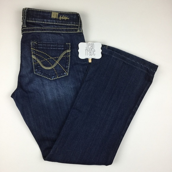 Kut from the Kloth Denim - Kut from the Kloth So low Bootcut Jeans