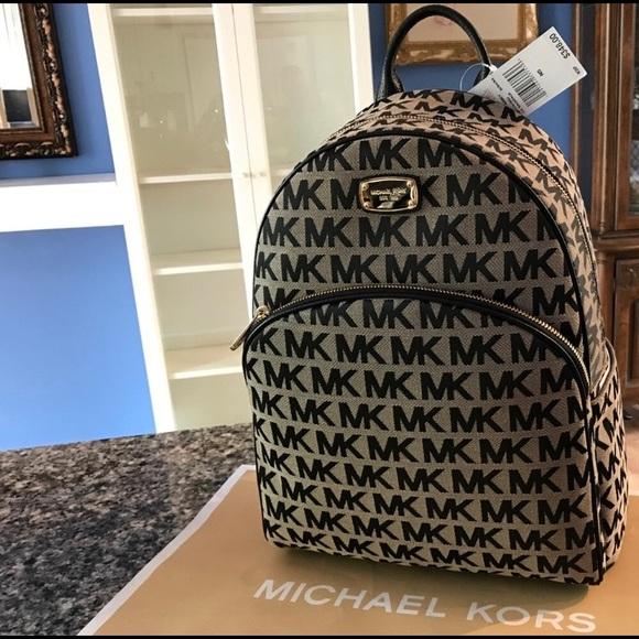 898054411a3 New $348 Michael Kors ABBEY Backpack MK Handbag NWT