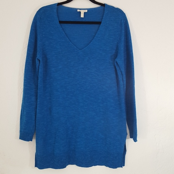 83bd0b5447a0 Eileen Fisher Sweaters - Eileen Fisher V Neck Tunic Sweater Cerulean Blue M