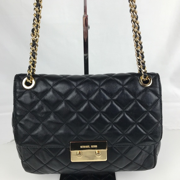 2ab02314d3fd Michael Kors Sloan Extra Large Chain Shoulder Bag