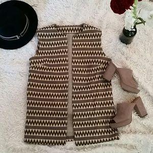 Tops - Amazing handmade fashion forward vest!