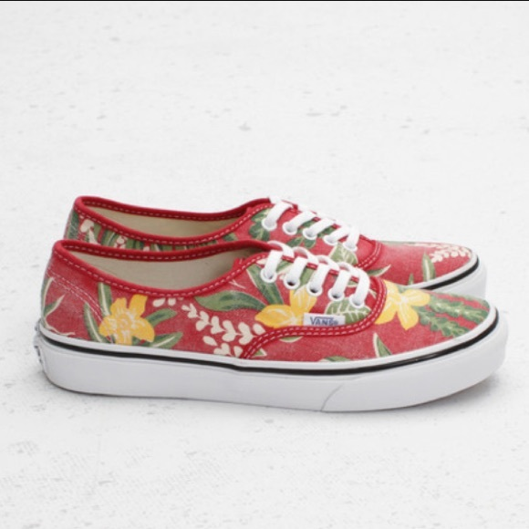 1c9ea952f7 Slim Van Doren Red Hawaiian. M 59d3d733ea3f369ff1049a70. Other Shoes you  may like. Black slip on vans