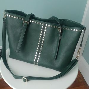Green purse from Wilson's Leather