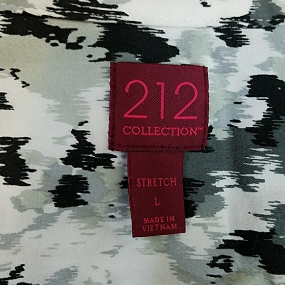 212 Collection Tops - 212 Collection Print Shirt
